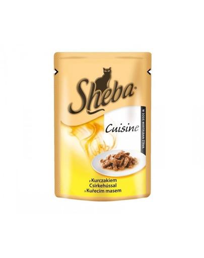 SHEBA Cuisine konservai su vištiena 85 g