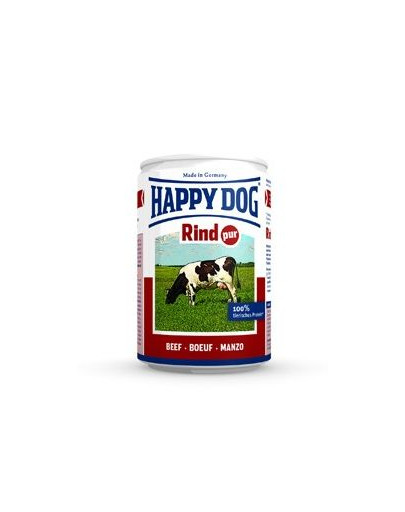 Happy Dog Rind Pur konservai šunims su jautiena 200 g
