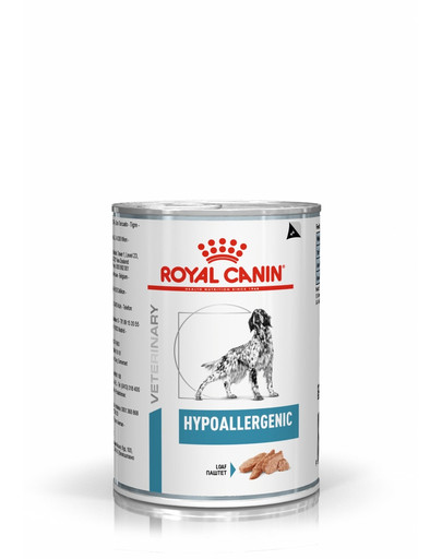 ROYAL CANIN Dog Hypoallergenic konservai 400 g