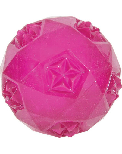 Zolux žaisliukas TPR Pop kamuoliukas 7.5 cm rožinis