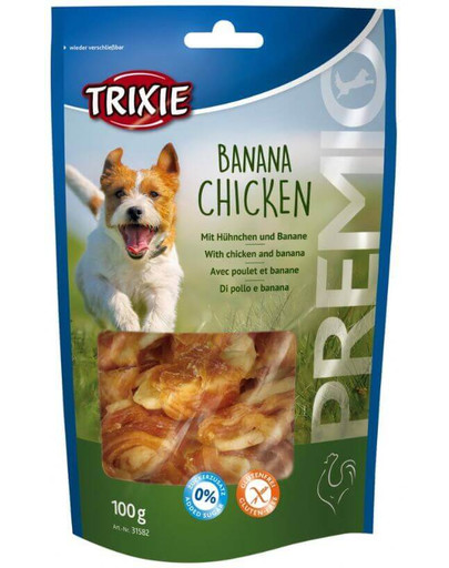 Trixie Snacki Premio Banana Chicken 100 g