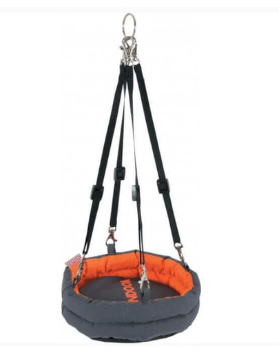 Zolux hamakas Indoor 270 X 230 X 430 mm pilkas-oranžinis