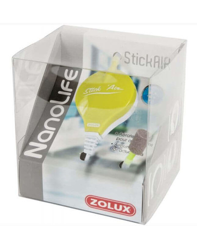 Zolux burbuliatorius Nanolife Stickair žalias
