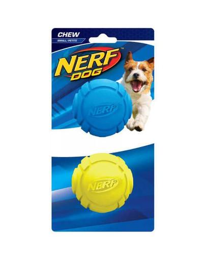 Nerf guminiai kamuoliukai su grioveliais S mėlynas/žalias 2 vnt.