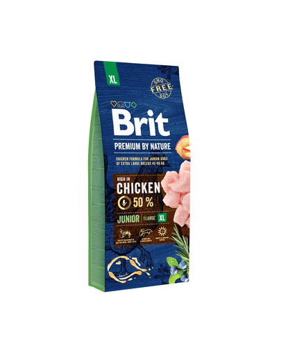 BRIT Premium By Nature Junior XL 15 kg