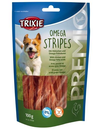 Trixie Premio Omega Stryoes skanėstai vištienos juostelės 100 g