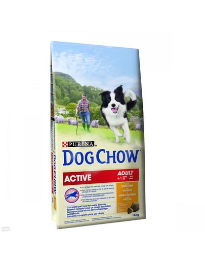 Nestle Purina Dog Chow Active su vištiena 14 kg