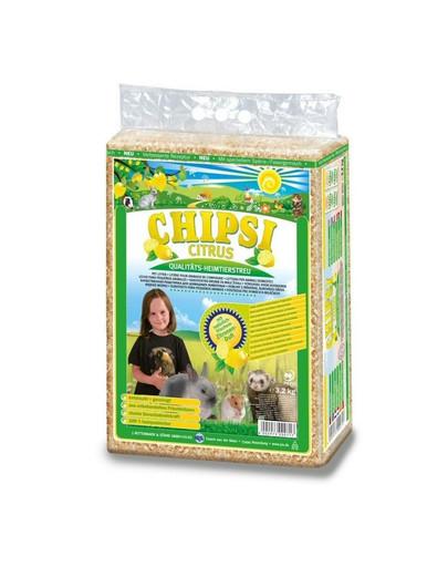 JRS Chipsi Citrus Multi kraikas citrinų kvapo 60 l
