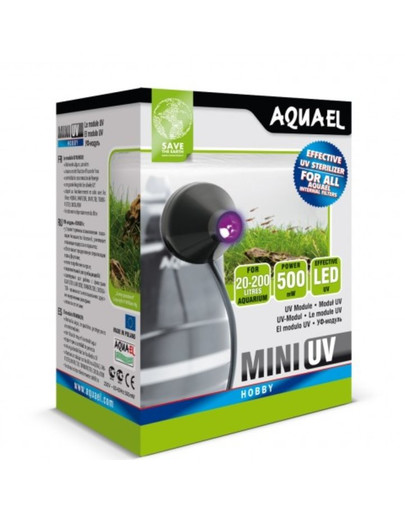 Aquael sterilizatorius Mini UV