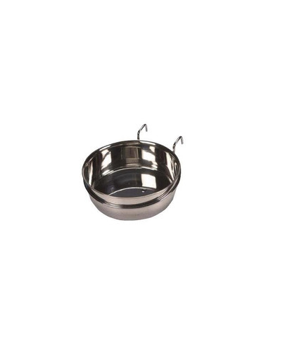 Trixie metalinis paukščių dubenėlis pakabinamas 150 ml