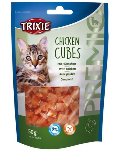 Trixie Premio Chicken Cubes skanėstai 50 g