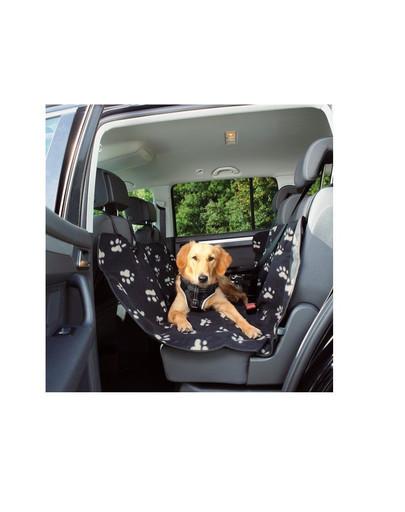 Trixie patiesalas automobilyje 0.65 x 1.45 m juodos -smėlinės spalvos