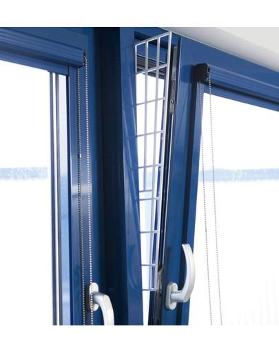 TRIXIE apsauginės grotelės lango šonams 62 × 16/7 cm