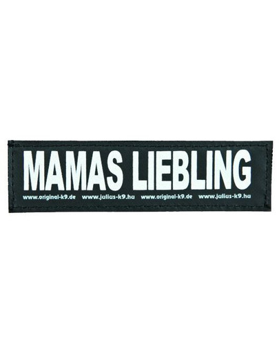 Trixie Julius-K9 Velcro Sticker S. Mamas Liebling