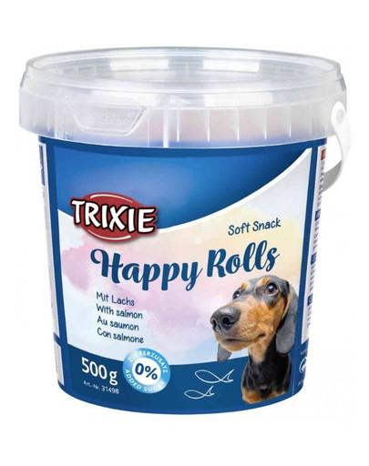 Trixie Happy Rolls minkšti skanėstai šunims 500 g