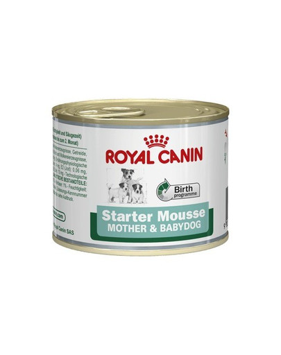 Royal Canin Starter Mousse 195 g - konservuotas ėdalas