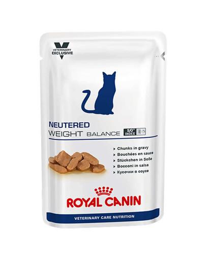 ROYAL CANIN Cat Neutered Weight Balance konservai 12 x 100 g