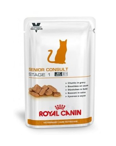 ROYAL CANIN Cat senior consult stage 1 konservai 100 g
