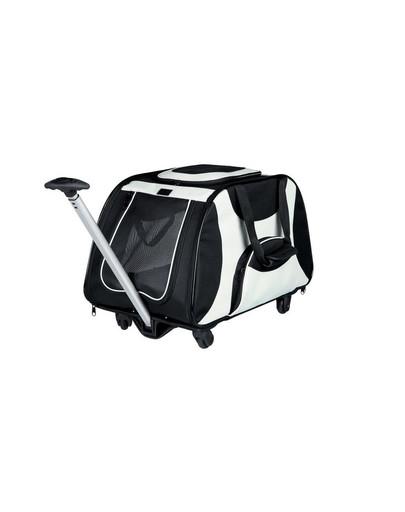 Trixie nailoninis vežimėlis 34 X 43 X 67 cm juodas-pilkas