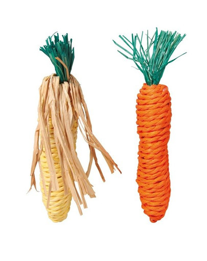 Trixie kramtalai morka ir kukurūzas iš sizalo virvės