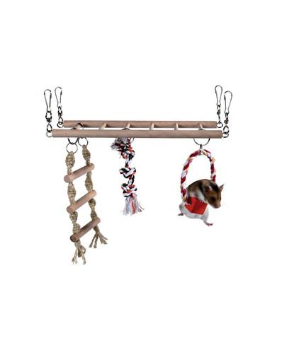 Trixie žaidimų aikštelė su kopėčiomis žiurkėnui