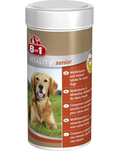 8In1 vitaminai Multi Vitamin - Senior 70 tabl.