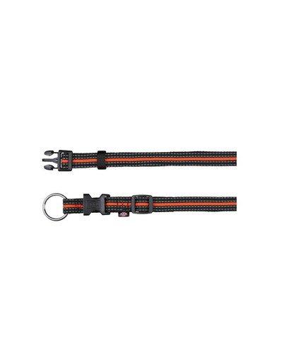 Trixie antkaklis Fusion Collar 40 – 65 cm / 25 mm juodas - oranžinis