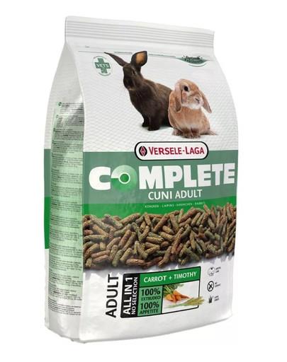 VERSELE-LAGA Cuni Adult Complete 8 kg + 800 g DOVANŲ pašaras suaugusiems nykštukiniams triušiams