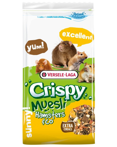 Versele Laga Crispy žiurkėnų pašaras 400 g