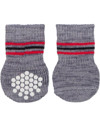 Trixie neslidžios kojinės šunims 2 vnt. m-l