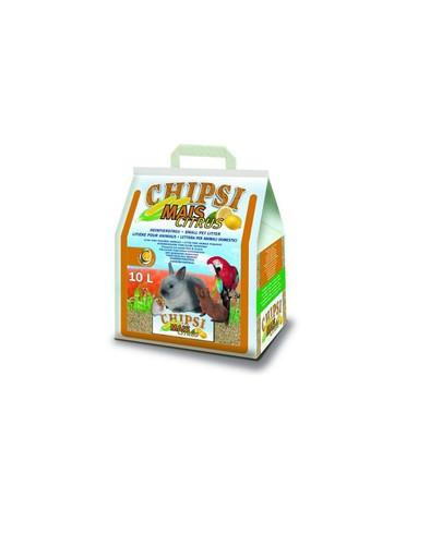 JRS Chipsi mais citrus 10l/4.6 kg -kukurūzų pjuvenos graužikams