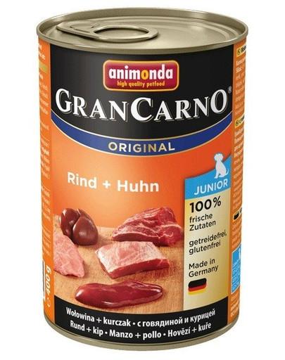 Animonda Grancarno Junior 400 g jaunų šunų konservai su vištiena ir triušiena