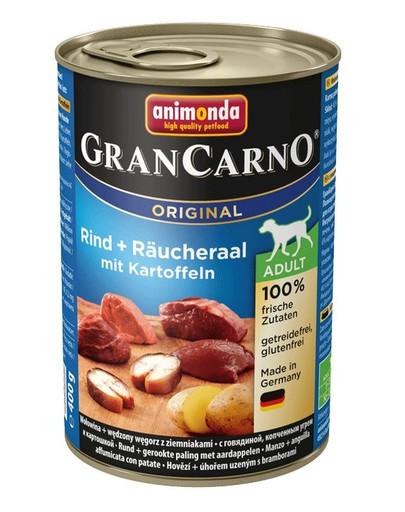 ANIMONDA Grancarno konservai su rūkytu unguriu ir bulvėmis 400 g