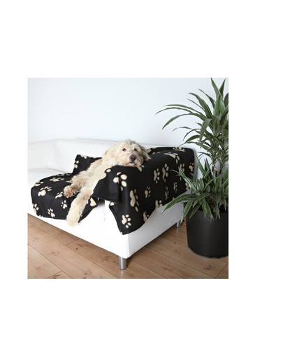 Trixie antklodė šunims Barney 150 X 100 cm juoda